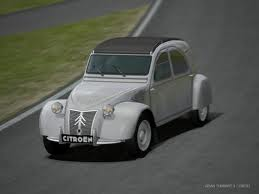 Diamond Tiara would drive this 1954 Citroen 2CV. What would Blinkie Pie have?