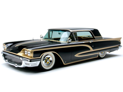 Rumble would drive a 1960 Ford Thunderbird. What would Prim Hemline drive?