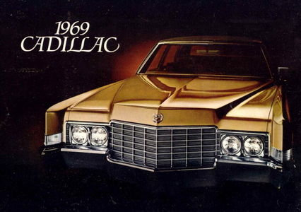 Prim Hemline would drive a 1969 Cadillac クーペ De Ville. What would Filli-second have?