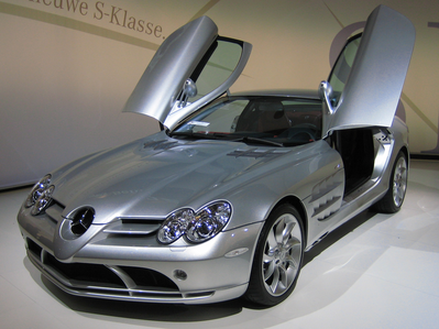 Roseluck would have a Mercedes-Benz SLR McLaren.What would Big Macintosh have?