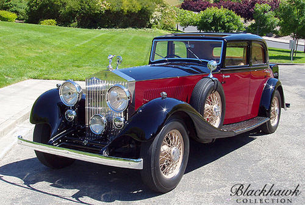 Thunderlane would drive a 1934 Rolls Royce. What would ster Spanner have?