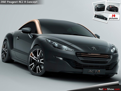 ster Spanner would drive a 2012 Peugeot RCZ R. What would Soarin' have?