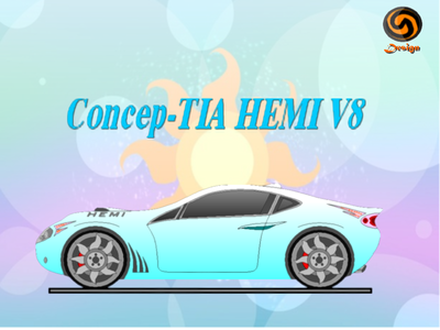 Celestia would drive my Concep-TIA HEMI V8, since it was inspired door her. Luna's car would be?