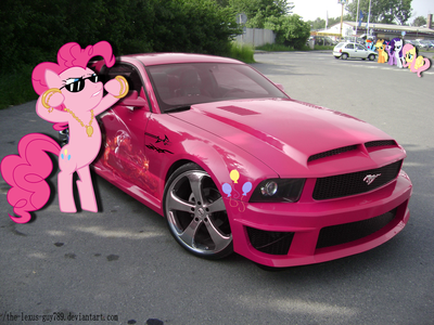Pinkie would have a ford.What about Flash Century?