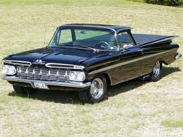 Babs Seed would drive a 1959 Chevrolet El Camino. What would karamel have?
