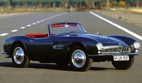 Trixie would drive a 1959 BMW 507. What would Sea Swirl have?