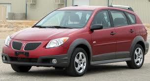 Coco would drive a 2007 Pontiac Vibe. What would King Sombra have?