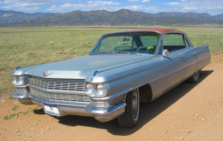 Gustav would have a 1964 Cadillac Series 62. What would Doughnut Joe have?