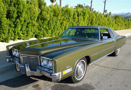 Doughnut Joe would also drive a Caddy, but a 1972 Eldorado. What would Con Mane have?