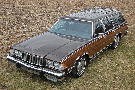Mr. Cake would drive a 1984 Mercury Colony Park. What would Mrs. Cake have?
