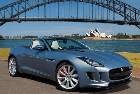 Dr. Whooves would drive a 2014 Jaguar F-Type. What would Silverspoon have?
