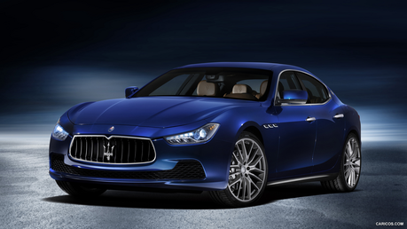 Trixie would drive a 2014 Maserati Ghibli. What would Twilight's dad, Night Light have?
