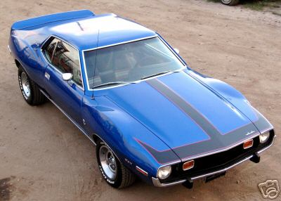 Silent Javelin would drive a 1973 AMC Javelin. What would Izzy drive?