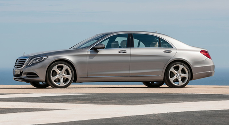 Filthy Rich would have a 2014 Mercedes-Benz S-Class L. Hoity Toity drive?