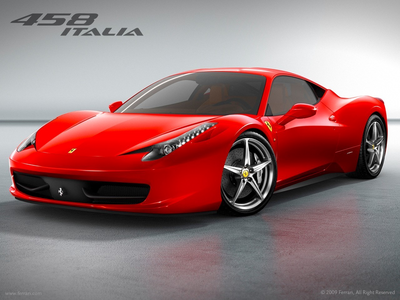 Hoity Toity would drive a Ferrari 458-Italia.What would Cadence drive?