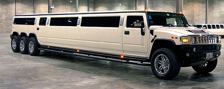 Sapphire Shores would have a Hummer H2 Limo. What would Roseluck have?