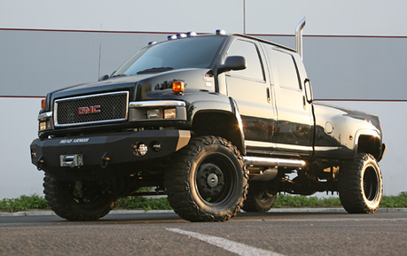 Snowflake would drive a 2010 GMC C4500. What would Blossomforth have?