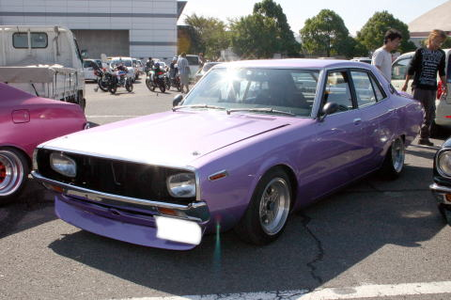Filly Twilight would drive a 1973 Nissan Skyline C110 Sedan. What would Roseluck have?