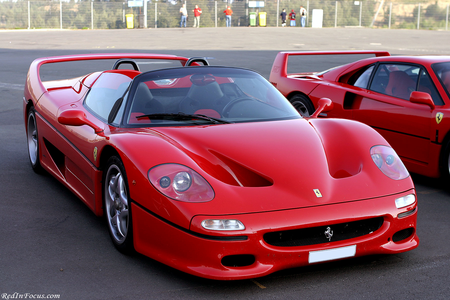 Radiance would drive a 1995 Ferrari F50. What would Saddle Ranger have?