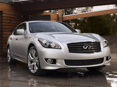 Cadence would drive a 2011 Infiniti M37 Sedan. What would picha Finish have?