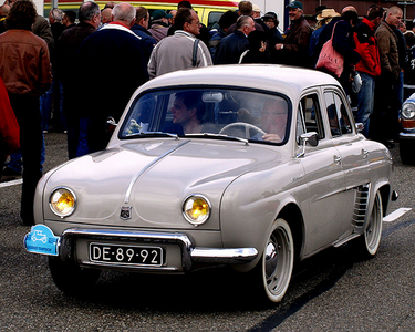 Derpy would drive a 1960 Renault Dauphine. What would Dinky have?