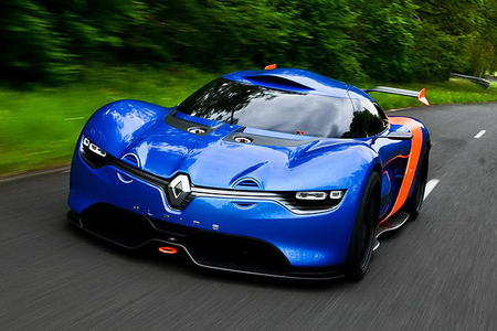 Lolz. Anyway, Luna would drive a 2013 Renault Alpine Concept. What would Celestia have?