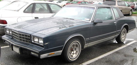 Lightning Dust would drive a 1981 Chevrolet Monte Carlo. What would Spitfire have?