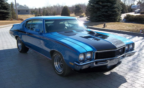 Vice Principal Luna would have a 1970 Buick GSX. What do anda think I would drive? Let's go for fa