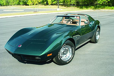 All right, good idea. あなた wold drive a 1974 Corvette C3. What would I drive?