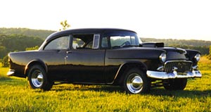 Windwakerguy430 would drive a 1955 Chevrolet Bel Air (This car was the one used in American Graffiti)
