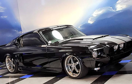 Someonebutnoone would drive this custom 1967 Ford Mustang. What would Canada24 have?
