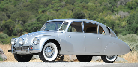 Soarin would drive a 1941 Tatra T 87. The Czechoslovakian Tatra was the first car manufacturer which