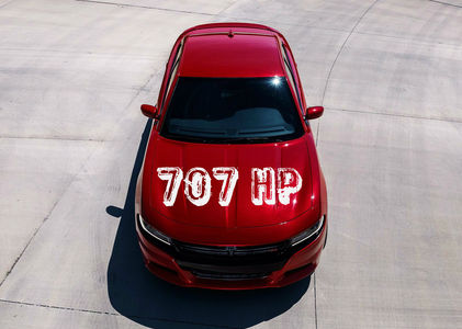 Dinky would drive a 2015 Dodge Charger SRT Hellcat. What would Pipsqueak have?