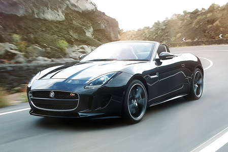 Sonata Dusk would drive a 2014 Jaguar F-Type V8 Convertible. What would Sunset Shimmer have?