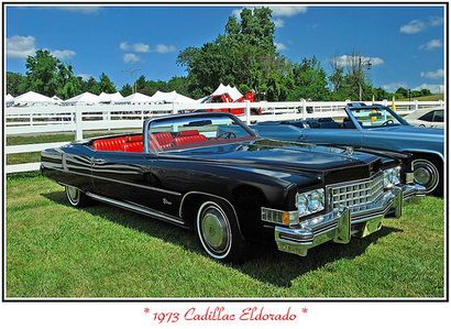 Trenderhoof would have a 1973 Cadillac Eldorado. What would Rarity have?