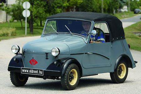 Screwball would drive a 1959 SZMZ SZ-3-A. What would Fluffle Puff have?