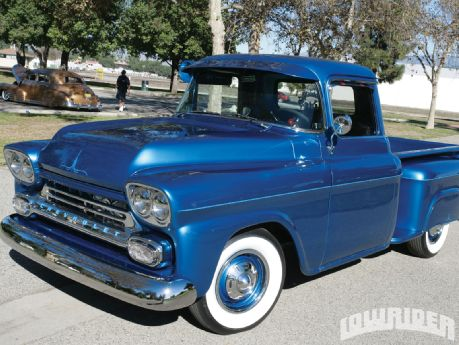 AJ would drive a 1958 Chevrolet Apache. what would Prince Blue Blood have?