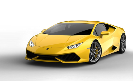 Prince Blueblood would drive a 2014 Lamborghini Huracan. What would Rarity have?