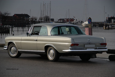 Rarity would drive a 1968 Mercedes 250SE Coupe. What would Fleur De Lis have?