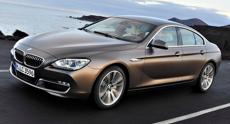 Silverspoon would drive a 2013 BMW 6 Gran Coupe. What would Ms. Harsh whinny have?
