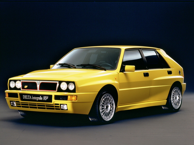 Cheerliee would drive a 1993 Lancia Delta. What would Bon Bon have?