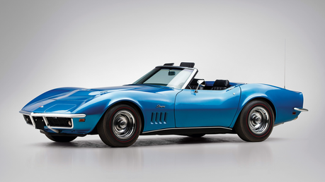 Colgate would drive a 1971 Chevrolet Corvette. What would Trixie have?