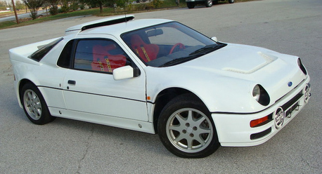 Scootaloo would drive a 1985 Ford RS2000. what would 照片 Finish have?