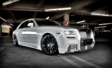 Sapphire Shores would have a custom 2013 Rolls Royce Ghost. What would Hoity Toity have?