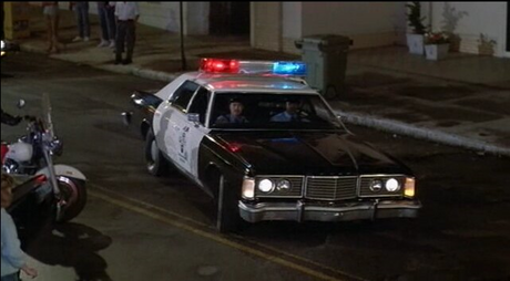 Discord would drive a 1974 Ford Custom 500 squad car. What would Bulk Biceps have?