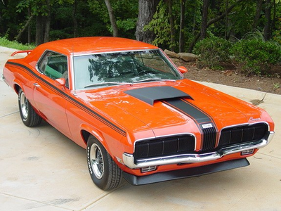 Bulk Biceps would drive a 1969 Mercury cougar Eliminator. What would Soarin' have?