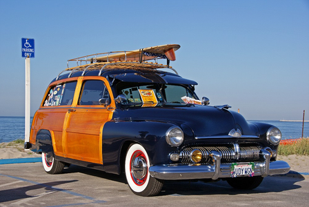 Fluttershy would drive a 1955 Ford Woody. What would Tirek have?