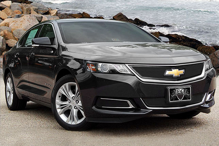 Lucky Clover would drive a 2015 Chevrolet Impala. What would Blossomforth have?