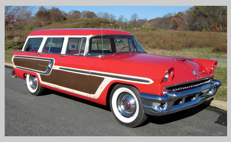 Flitter would have a 1955 Mercury Monterey Station Wagon. What would Cloudchaser have?