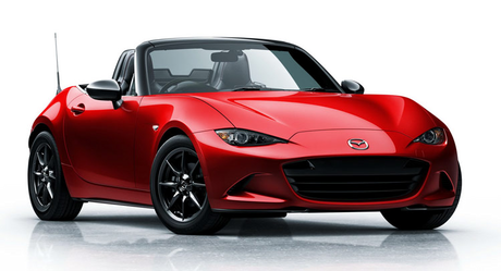 Cloudchaser would drive a 2015 Mazda MX-5. What would карамель have?